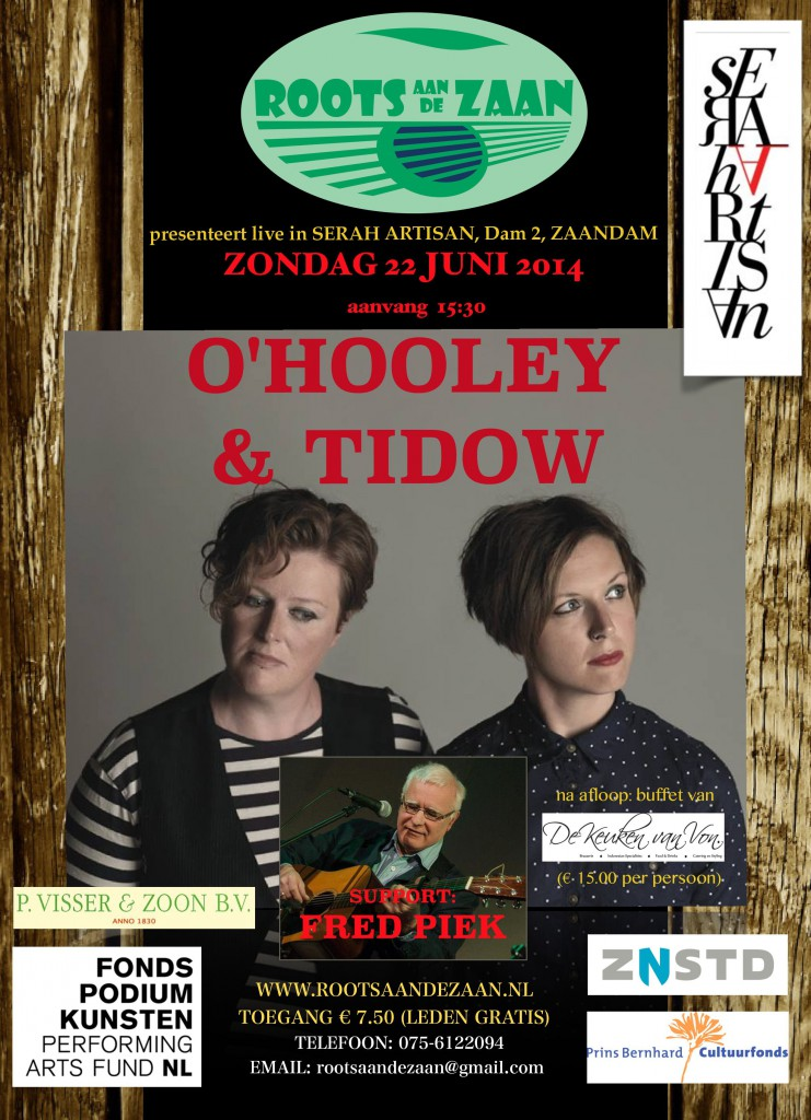 poster o'Hooley & Tidow jpg